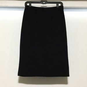 Kate Spade Saturday Black Knit Pencil Skirt
